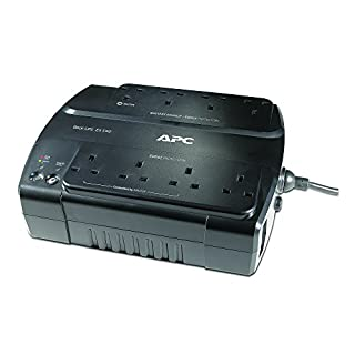 APC Back-UPS ES - BE550G-UK - Uninterruptible Power Supply 550VA (8 Outlets, Surge protected)