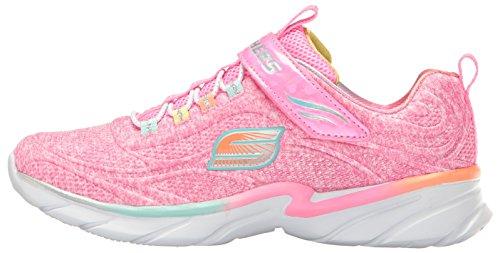 Skechers Swirly Girl-Shimmer time 81703L/PKMT Mädchen Klettverschluss/Slipper Halbschuh sportlicher Boden, Größe 34.0 -