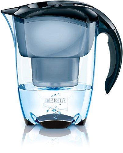 BRITA Elemaris Jarra y Filtro, Negro, 2.4 litros