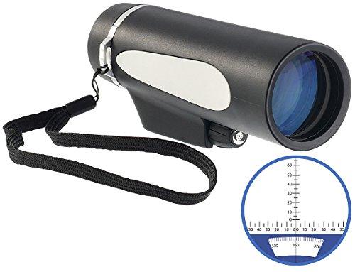 Zavarius Fernglas: Marine Monokular FG-350.m, mit Kompass und Entfernungsmesser, IPX6 (Monocular)