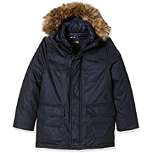 Tommy Hilfiger Twill Toggle Coat-Giubbotto Bambino