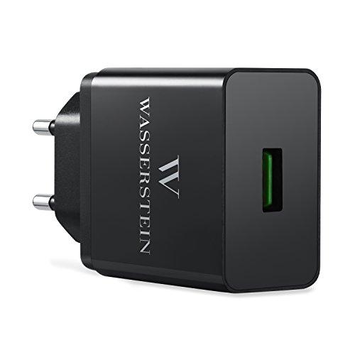 USB Ladegerät mit Quick Charge 3.0 USB Wandladegerät von Wasserstein. Adapter Für Arlo Pro, Arlo Pro 2, Galaxy S8, S8 Plus, LG G6, LG G5, iPhone,...