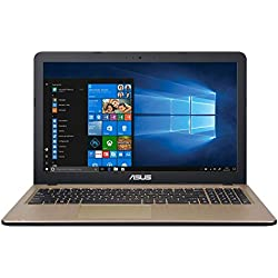 "ASUS K540UA-GQ676T - Ordenador portátil de 15.6"" HD (Intel Core i7-8550U, 8 GB RAM, 256 GB HDD, Intel UHD Graphics 620, Windows 10 Original) Negro Chocolate - Teclado QWERTY Español"