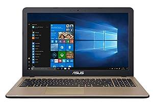Portátil ASUS X540UB-GQ491T con acabado en color negro chocolate, pantalla de 15.6 pulgas LCD retroiluminada por LED con resolución HD Ready de 1366 x 768 píxeles, sistema operativo Windows 10 con arquitectura de 64-bits, procesador Intel Core i5-825...
