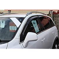 Für Chevrolet Captiva 2007+ Windabweiser-Set (4Stück) (geräuchert)