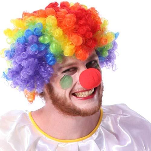 d Ball Schaum Zirkus Clown Nase Comic Party Halloween Kostüm Kleid Rot ()