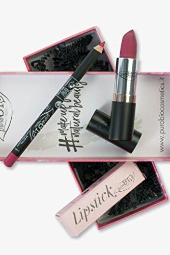 Confezione Regalo Lipstick fucsia + Lipliner fragola