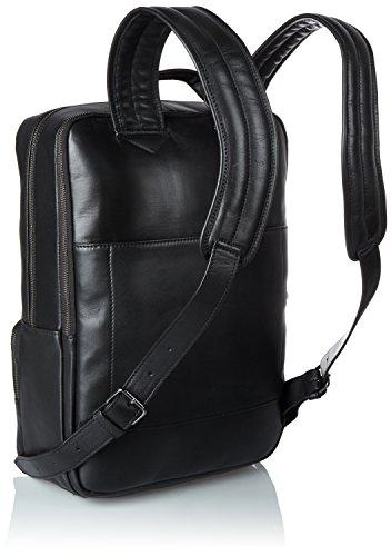 BREE Herren Gordon 3 Schultertasche, 40 x 13 x 30 cm Schwarz (Black)