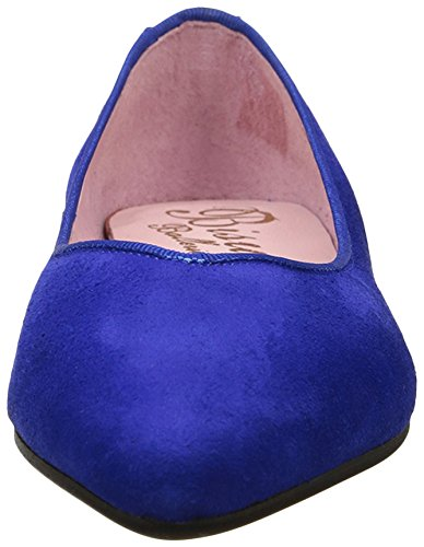 Bisué Danseuses, Danseuses femme Bleu roi