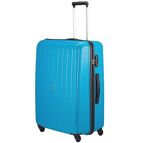 """Travelite Valise trolley """"Uptown"""" avec 4 roues Taille L pétrole Koffer, 75 cm, 113 liters, Blau (Pétrole)"""