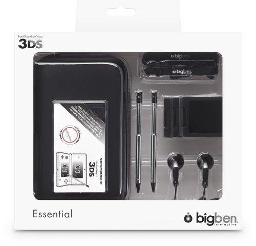 """Nintendo 3DS - Zubehör-Set """"Essential"""" schwarz"""