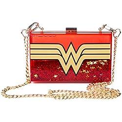DC Comics Wonder mujer Wonderlust brillo plexigls cruzar bolsa de plstico