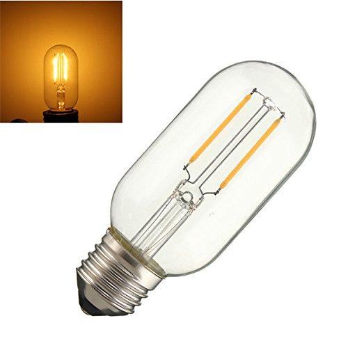 Bazaar E26 2W COB Retro Vintage Edison warmes Weiß 120LM helle Lampen Birne AC110V AC220V E27 Dimmbare T45 -