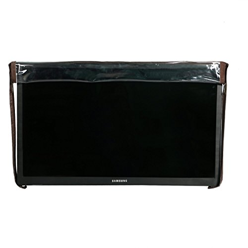 Yellow Weaves Transparent PVC LED/LCD Television Cover for 32 Inches LED/LCD  available at amazon for Rs.369