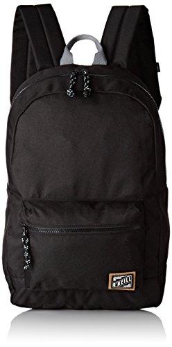 O'NEILLBm Coastline Backpack - Zaino Uomo , nero (Nero (Black Out)), 20x46x46 cm (W x H x L)