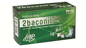 Rusan Healthcare Pvt Ltd 2Baconil Nicotine Gum ( Five Strip 50 Gums )