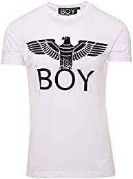 t shirt boy london uomo bianca