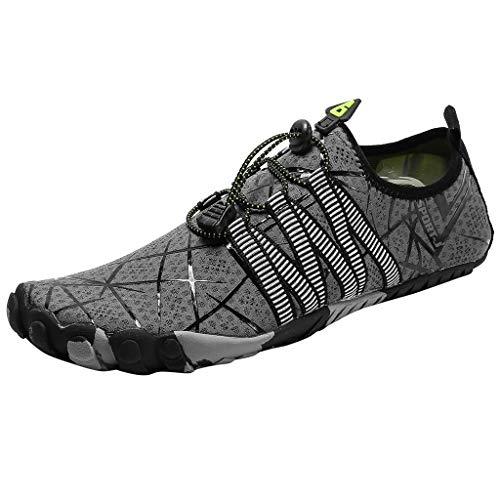 Floweworld Unisex Wasserschuhe Mode Outdoor Wandern Sportschuhe Casual Mesh Waten schnell trocknende Schuhe Schnelle Stampfer
