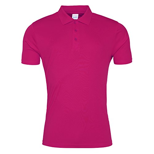 Cool Smooth Polo Hot Pink