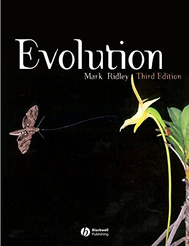 Evolution por Mark Ridley