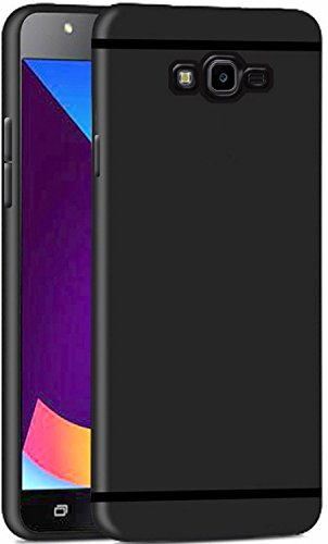 Samsung Galaxy J2 (2017) Back Cover - Thinkzy Exclusive Matte Finish Soft Back Case Cover for Samsung Galaxy J2 (2017) - Black