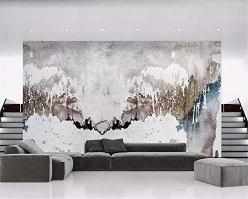 Xcmb Tapete Avantgarde Einfache Abstrakte Tinte Malerei Sofa Tv Hintergrund Wandbild Wallpapaers 3D Für Wohnzimmer Schlafzimmer Papier Wand-Dekor-250Cmx175Cm -