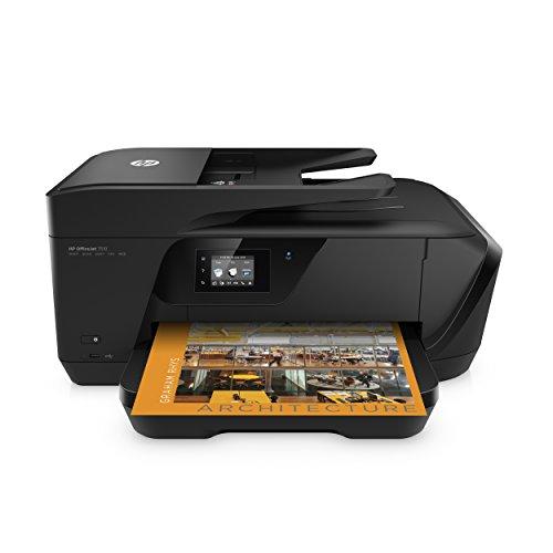 HP Officejet 7510Wide Format AIO 4800x 1200dpi Inkjet A315ppm Wi-Fi–Multifunzione (getto d' inchiostro, 4800x 1200dpi, 250fogli, A3, stampa diretta, Nero)