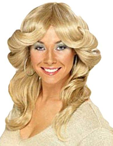 erdbeerloft - Damen Perücke, 70er Jahre, Kostüm Zubehör, ()