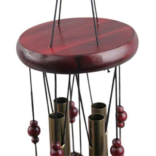 Chunyang Außen Wind Chimes Yard Antique Garden Tubes Bell Copper Startseite Windchime Glocken Wandbehang Home Decor -