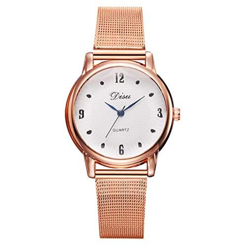 XZDCDJ Damen Uhr Armbanduhr Damenuhren Stilvolle und Elegante Multi-Muster Diamond Dial Alloy Strap Damen Quarzuhr A7 A -