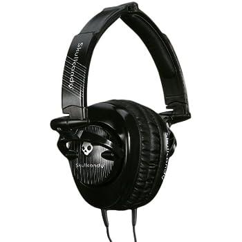 Skullcandy SCS-SCBP Over-Ear Headphone (Black Pinstripe)