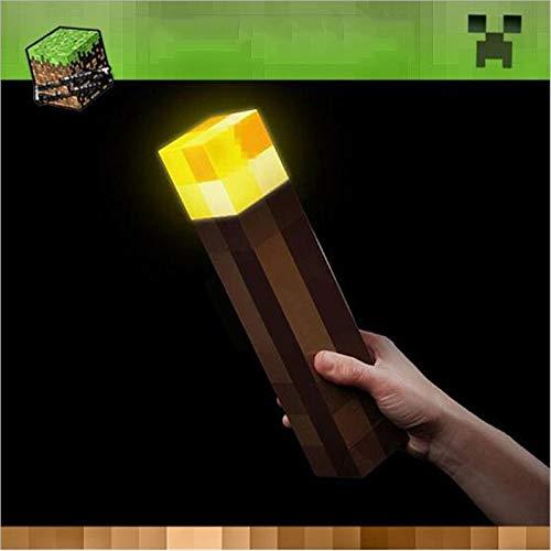 BEITAI Hot Minecraft Light Up Fackel LED Nachtlampe Original Light-Up Spielzeug Hand oder Wandhalterung Neue Diamant Erz Lampe for kinder Geschenk -