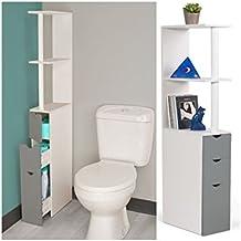 Meuble rangement wc - Petit meuble de rangement wc ...