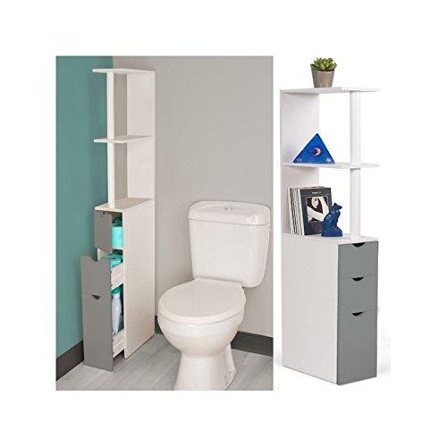 idmarket-meuble-wc-etagere-bois-blanc-et-gris-gain-de-place-pour-toilettes-3-portes