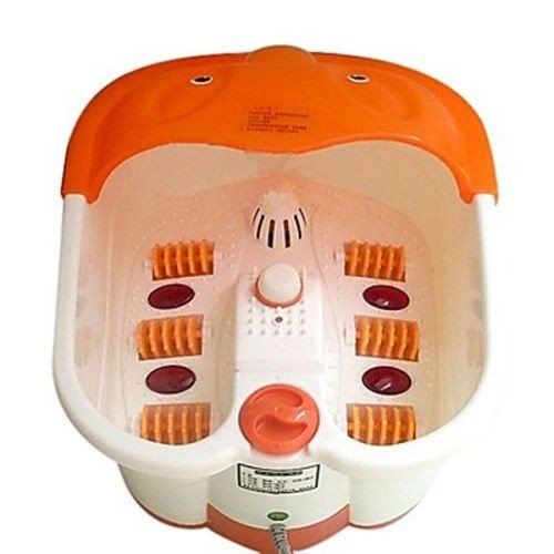 Gadgetbucket Foot Spa Footbath & Roller Massager For Feet Pain Relieve And Feet Care