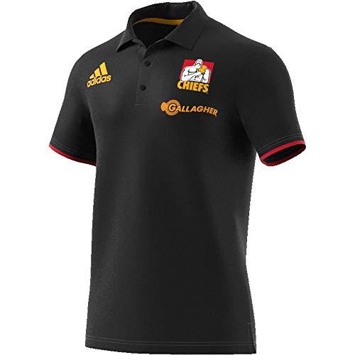 adidas Herren Chiefs Polohemd, Black, S