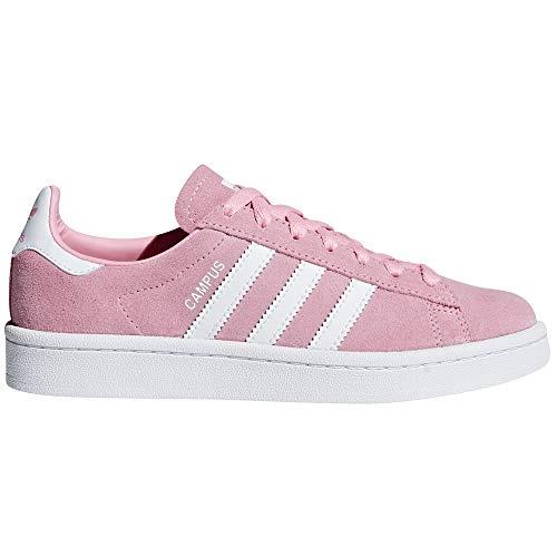 detailed look 5d76f 6310b Adidas Original Campus Zapatillas Deportivas Rosas y Azules para Mujer de  Ante. Sneaker Trainer (