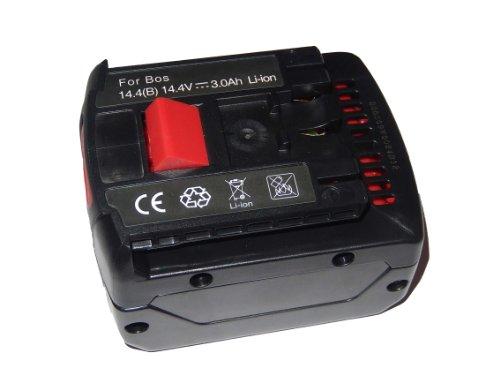 vhbw Akku 3000mAh (14.4V) für Werkzeug Bosch GML Soundbox, GML20 Baustellenradio, GML50 Baustellenradio, HDB180-02, PB360S, TSR 1080-LI.