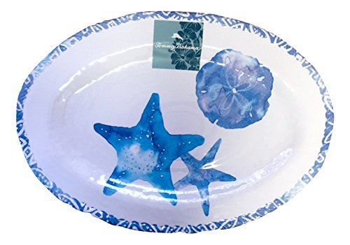 tommy-bahama-large-oval-melamine-serving-platter-ocean-creatures-print-by-tommy-bahama