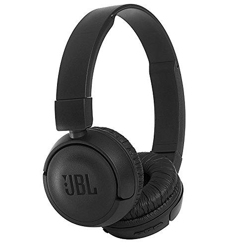 JBL T450BT - Auriculares binaurales, inalámbricos, circumaural, Bluetooth, Diadema de Color Negro