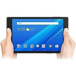 "Lenovo TAB4 8 - Tablet de 8"" HD (Qualcomm Snapdragon 425, 2GB de RAM, memoria interna de 16GB de eMCP, Camara frontal de 5MP, Sistema operativo Android 7.1, Wifi + Bluetooth) color negro"