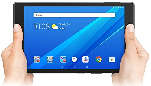 "Lenovo TAB4 8 - Tablet de 8"" (Procesador Qualcomm MSM8917, 2 GB de RAM, 16 GB de memoria interna, Camara frontal de 5MP, Sistema operativo Android 7.0, Wifi + Bluetooth) color negro"