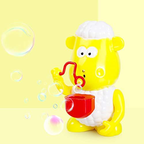 Plüsch Bildung Squishy Spielzeug aufblasbares Spielzeug im Freien Spielzeug,Nettes Schaf-automatisches Musik-Blasen-Maschinen-Gebläse-Hersteller-Party-Sommer-Spielzeug im Freien ()