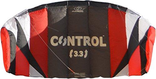Flexi foil 1.7 M² / 2.4 m2/3rd 3M2 control 3-line kitesurf Kite como entrenador travetti -, líneas - y liberación rápida Sistema de seguridad con 90 días dinero-volver-garantizado! Gracias a su récord mundial de energía Kite - y kite surf hatstar - seguro, fiable y duradera energía Kite, kite surf entrenamiento y tracción importadoras kiten Talla:3.3m2
