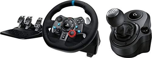 Logitech G29 Driving Force Race Wheel with Driving Force Shifter for PlayStation 3/4 and PC