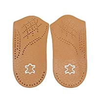 YSINFOD Flat Feet Insoles Classic Practical Foot Soothers 3/4 Orthotic Insole Support Helps Weak And Fallen Arches Insoles,41-42 Yards