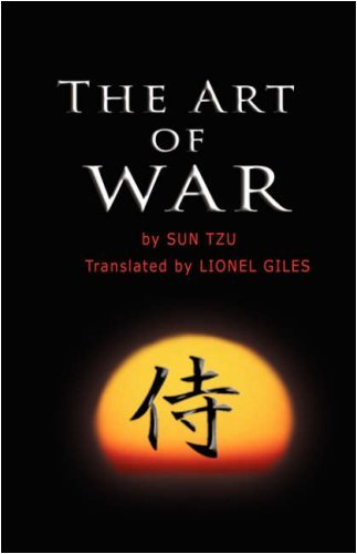 The Art of War by Sun Tzu (English and Mandarin Chinese Edition) by Sun Tzu(2007-05-11)