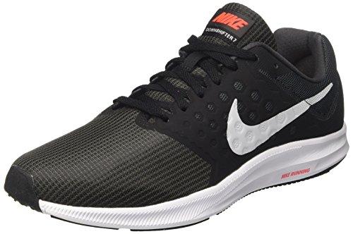 Nike Herren Downshifter 7 Laufschuhe, Grau (Anthracite/Black/Pure Platinum), 43 EU (Laufschuhe Herren 7)