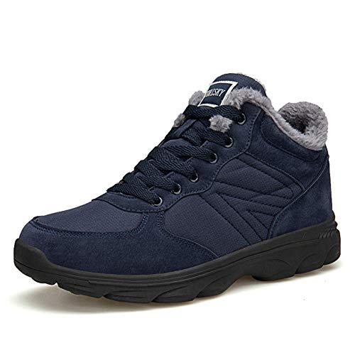 Axcone Winterschuhe Damen Herren Warm Gefüttert wasserdicht Winterschuhe Winter Outdoor Boots Wanderstiefel Stiefel Unisex - 6919 Mehrfarbig 43EU