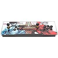 Househome Pandora's Box 6s, 1388 Juegos Clásicos en 1 Caja de Pandora 6,  Retro Video Games Double Stick Arcade Console con 4 Soportes de Goma Antideslizantes